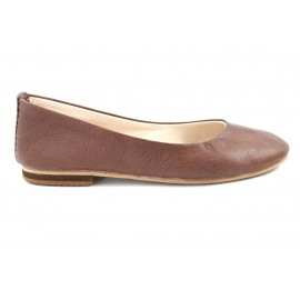 Romia Ballerina made of Brown Leather