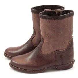 Wijda brown leather boots